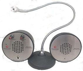 Intercomunicador com microfone Pedestal